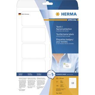 Herma 4412 trennbar ablösbar Textetiketten 5x8 cm (25 Blatt (