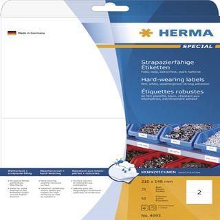 Herma 4693 strapazierfähig extrem stark haftend