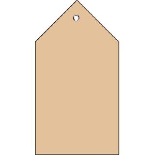 Herma Anhängez. 80x150 mm m. Kunststofföse Faltecken 250 St.