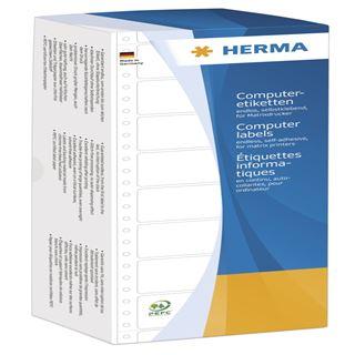 Herma 8212 weiß Computeretiketten 10.16x3.57 cm (4000 Stück)