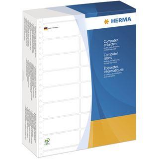 Herma 8225 weiß Computeretiketten 10.16x3.57 cm (8000