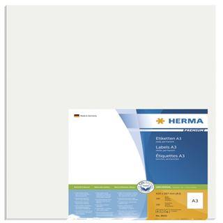 Herma 8692 Premium A3-Etiketten 29,7x42,0 cm (100 Blatt (100 Etiketten))