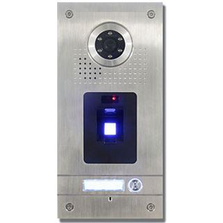 AE Farb-Videotürsprechanlage m. Fingerprint für 1 Familie