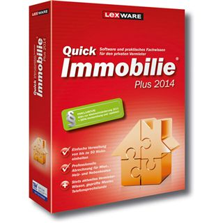 Lexware QuickImmobilie 2014 Plus 32 Bit Deutsch Office Vollversion PC