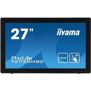 "27"" (68,58cm) iiyama ProLite T2735MSC Touch schwarz 1920x1080"