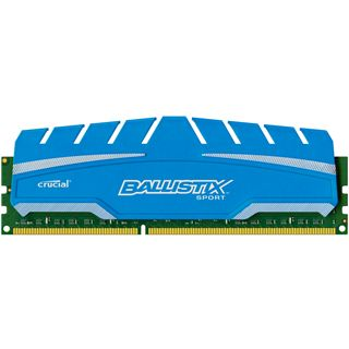 8GB Crucial Ballistix Sport XT DDR3-1866 DIMM CL10 Single