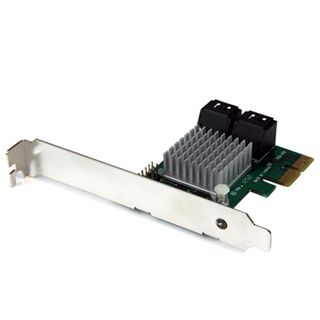 Startech PEXSAT34RH 4 Port PCIe 2.0 x2 Low Profile retail