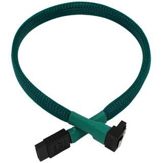 Nanoxia 30cm grünes Kabel für SATA 3.0 (NXS6G3G)