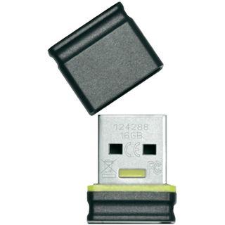 16 GB Platinum Mini schwarz USB 2.0