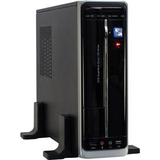 Inter-Tech WD-01 Desktop Desktop 250 Watt schwarz