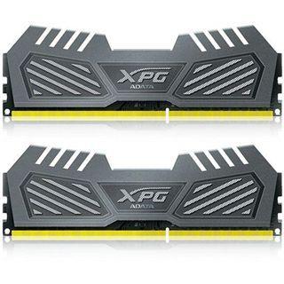 16GB ADATA XPG V2 grau DDR3-2400 DIMM CL11 Dual Kit