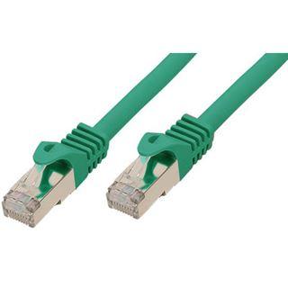 (€2,30*/1m) 3.00m Good Connections Cat. 7 S/FTP PiMF RJ45 Stecker auf RJ45 Stecker Grün halogenfrei