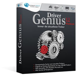 Avanquest Driver Genius 12 Platinum Edition 32/64 Bit Deutsch Tool Vollversion PC (DVD)