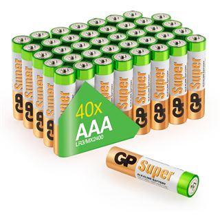 GP Batteries GP Super Alkaline Multipack 40