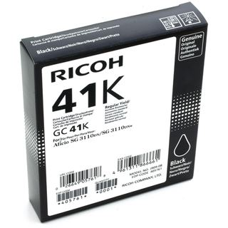 Ricoh Gel Cart. GC-41 für SG2100N/SG3110DN/3110DNW black (405761) High capacity
