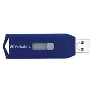2GB Verbatim Store 'n' Go New Retractable Series Blau USB 2.0 Stick