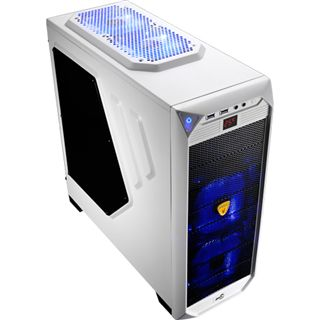 AeroCool VS-92 White Edition mit Sichtfenster Midi Tower ohne