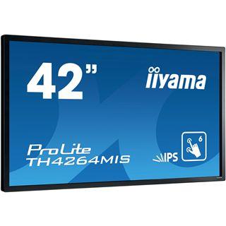 """42"""" (106,68cm) iiyama TH4264MIS-B1 schwarz/silber 1920x1080"""
