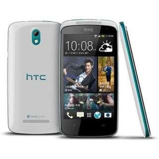HTC Desire 500 4 GB weiß/blau