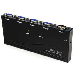 Startech ST124PROEU 4-fach VGA-A/V-Splitter