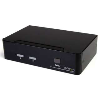 Startech SV231DPUA 2-fach Desktop KVM-Switch