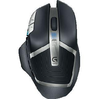 Logitech G602 USB schwarz (kabellos)