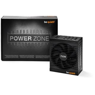 750 Watt be quiet! Power Zone Modular 80+ Bronze