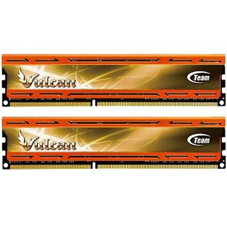 16GB TeamGroup Vulcan Series orange DDR3-1866 DIMM CL10 Dual Kit