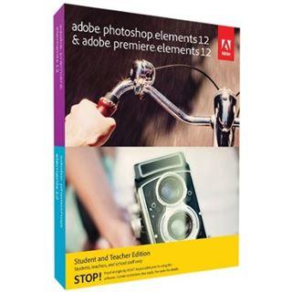 Adobe Photoshop Elements 12.0 und Premiere Elements 12.0 32/64 Bit Deutsch Grafik EDU-Lizenz PC/Mac (DVD)