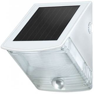 Brennenstuhl Solar LED-Wandleuchte SOL 04 plus, weiß