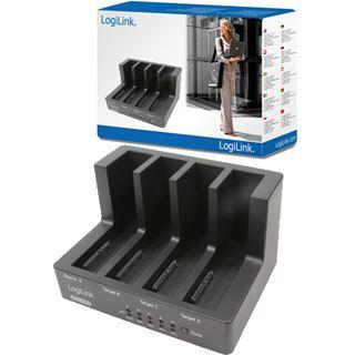 """LogiLink USB 2.0 Kopierstation für 4x 2.5"""" und 3.5"""""""