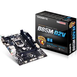 Gigabyte GA-B85M-D2V Intel B85 So.1150 Dual Channel DDR3 mATX Retail
