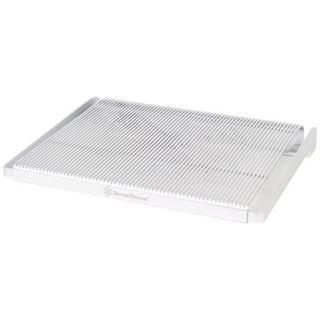 Silverstone SST-NB04S Notebook Kühler - silber