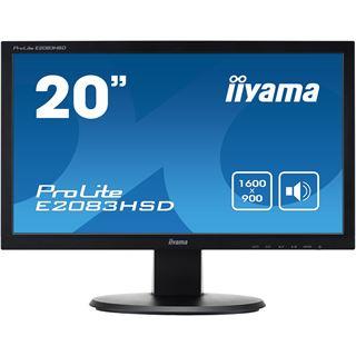 "19.5"" (49.50cm) iiyama ProLite E2083HSD-B1 schwarz 1600x900 VGA"