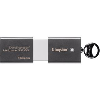 128 GB Kingston DataTraveler Ultimate G3 silber USB 3.0