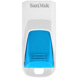 16 GB SanDisk Cruzer Edge weiss/blau USB 2.0