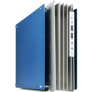 IN WIN H-Frame Mini Mini-ITX 180 Watt silber/blau