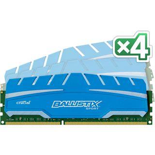 32GB Crucial Ballistix Sport XT DDR3-1866 DIMM CL10 Quad Kit