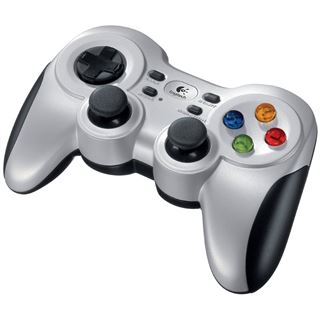 Logitech F710 Wireless Gamepad 940-000145 USB silber/schwarz PC