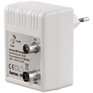 Hama Antennen-/BK-Verstärker, 20dB, regulierbar