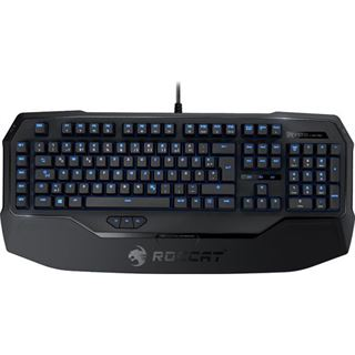 Roccat Ryos MK Pro Gaming Keyboard CHERRY MX Brown USB Deutsch schwarz (kabelgebunden)