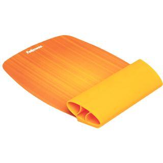 Fellowes GmbH Silikon orange Handgelenkauflage für Mäuse (9362401)