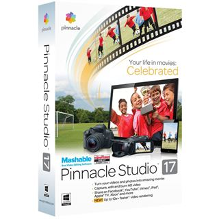Corel Pinnacle Studio 17.0 32/64 Bit Deutsch Videosoftware