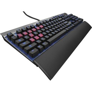 Corsair Vengeance K70 MX Blue CHERRY MX Blue USB Deutsch grau