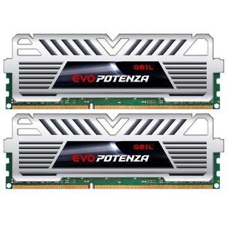 16GB GeIL EVO Potenza White Series DDR3-2666 DIMM CL11 Dual Kit