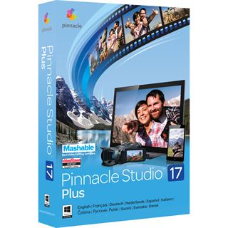 Corel Pinnacle Studio 17.0 Plus 32/64 Bit Deutsch Videosoftware