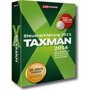 Lexware Taxman 2014 32/64 Bit Deutsch Office Vollversion PC (CD)