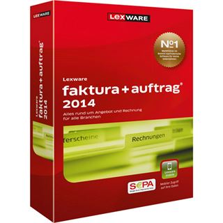 Lexware 2014 32/64 Bit Deutsch Office Vollversion PC (CD)