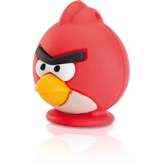 8 GB EMTEC Angry Birds Red Bird Figur USB 2.0