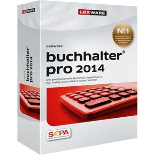 Lexware Buchhalter Pro 2014 32/64 Bit Deutsch Finanzen Vollversion PC